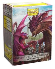 Dragon Shield Standard Matte Art Sleeves: Father's Day