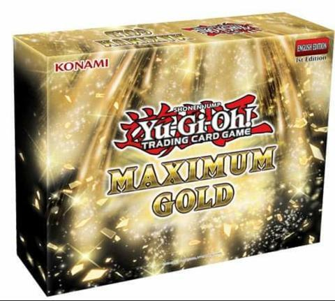 Maximum Gold Mini Box <b><i>*PRE-ORDER*</b></i>