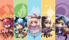 CoreTCG Exclusive Playmat - Force of Will Chibi Mat