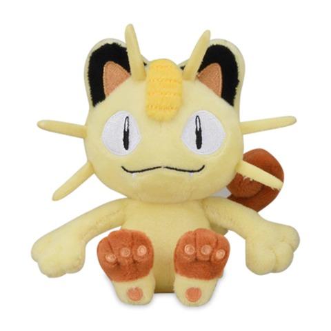 Meowth Sitting Cuties Plush - 5 Inch