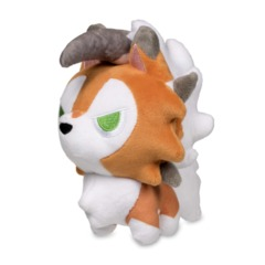 Lycanroc Dusk Form Pokemon Dolls Plush - 6 1/2 Inch
