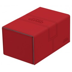 Ultimate Guard - Twin Flip'n'Tray Deck Case - XenoSkin Standard Size 160+ Red