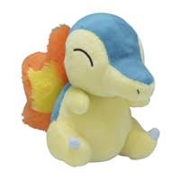 Cyndaquil Sitting Cuties Plush - 7 Inch