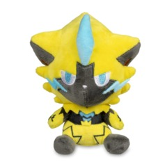 Zeraora Pokemon Dolls Plush - 6 3/4 Inch