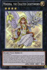 Minerva, The Exalted Lightsworn - YCSW-EN008 - Super Rare - Limited Edition