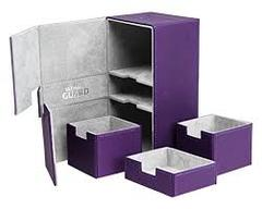 Ultimate Guard Twin Flip'n'Tray 200+ Deck Case - Purple