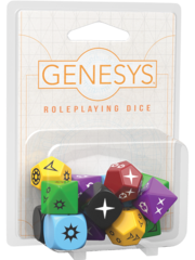 Genesys Role Playing Dice