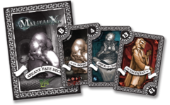 Malifaux: Arcane Fate Deck Black