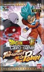 Dragon Ball Super TCG: Tournament of Power Booster Packs