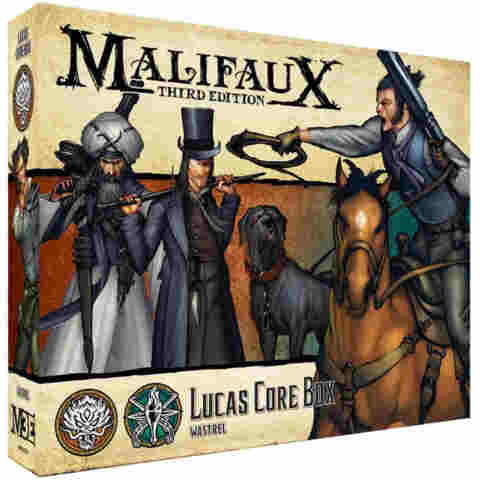 Malifaux Third Edition: Lucas Core Box