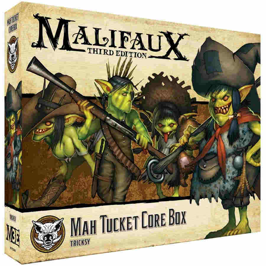 Malifaux Third Edition: Mah Tucket Core Box