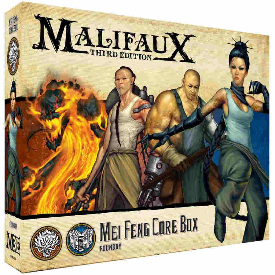 Malifaux Third Edition: Mei Feng Core Box
