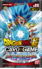 Dragon Ball Super TCG - Destroyer Kings Booster Pack