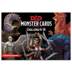 D&D Monster Cards Challenge 6-16