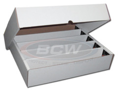 BCW 5-Column Storage Box
