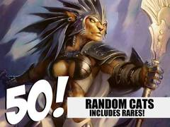Cat Lot - 50 Random Cats! (Includes Rares!)
