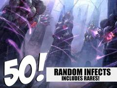 Infect Lot - 50 Random Infects! (Includes Rares!)