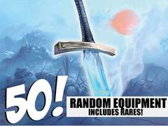 Equipment Lot - 50 Random Equipment! (Includes Rares!)