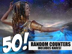 Counter Lot - 50 Random Counters! (Includes Rares!)