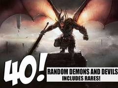 Demon and Devil Lot - 40 Random Demons and Devils! (Includes Rares!)