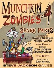 Munchkin Zombies 4 Spare Parts Expansion  *