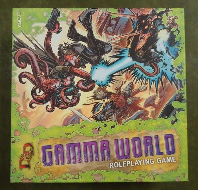 D&D Gamma World Roleplaying Game