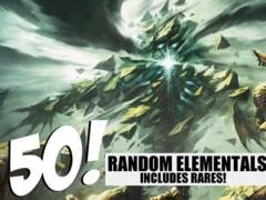 Elemental Lot - 50 Random Elementals! (Includes Rares!)
