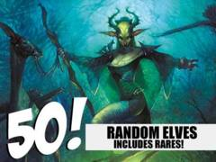 Elf Lot - 50 Random Elves! (Includes Rares!)