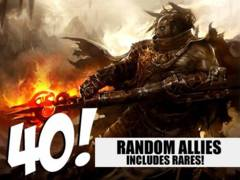 Ally Lot - 40 Random Allies! (Includes Rares!)