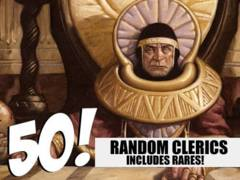 Cleric Lot - 50 Random Clerics! (Includes Rares!)