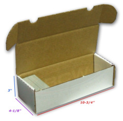BCW 500ct Storage Box