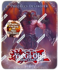 Prophecy Destroyer Yu-Gi-Oh Collectors Tin