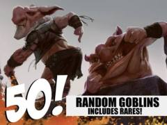 Goblin Lot - 50 Random Goblins! (Includes Rares!)