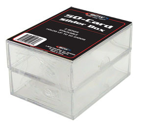 BCW 50-Card Slider Box (Pack of 2)