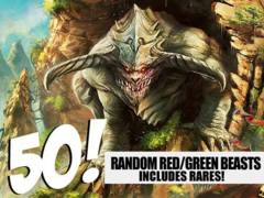 Beast Lot - 50 Random Red/Green Beasts! (Includes Rares!)