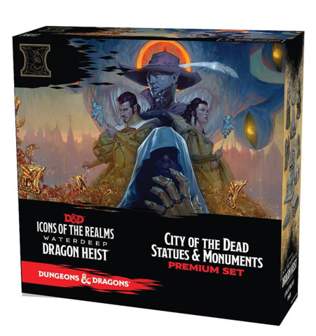 D&D Icons of the Realms Waterdeep Dragon Heist Set