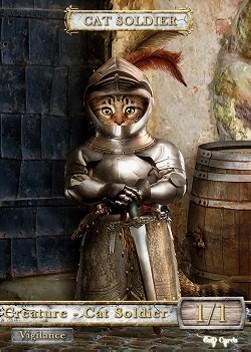 Cat Soldier #2