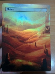 PLAINS #07 FOIL BORDERLESS