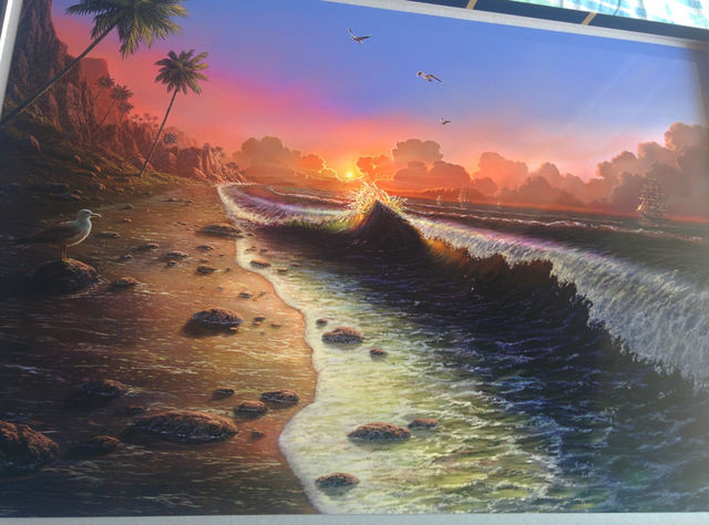 Art Print ** Tahiti ** 13x19 Inches