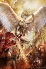 Art Print **Apocalypse Angel** 13x19 Inches MTG Signed by the Artist