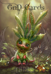 Art Print **Baby Plant** 13x19 Inches MTG
