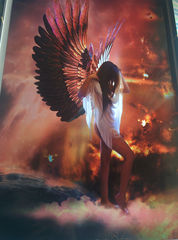 Art Print **Between Heaven and Hell** 13x19 Inches MTG