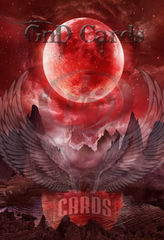 Art Print **Blood Moon** 13x19 Inches MTG