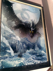 Art Print **Blue Dragon** 13x19 Inches MTG