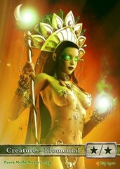 Green-White Elemental #6 - Hera