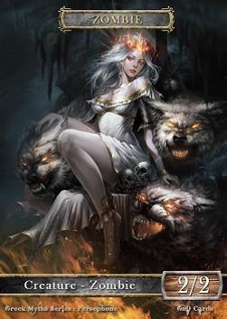 Zombie #7 - Persephone - Greek Myths Series » Greek Myths