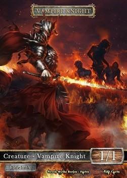 1x Kaldra Token #2 Custom Altered MTG Greek Myths Series