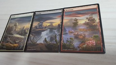3x Lands Mardu (Plains-Swamp-Mountain) Non-Foil Panorama
