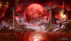 Blood Moon Playmat