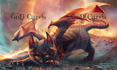Cat Dragon Playmat